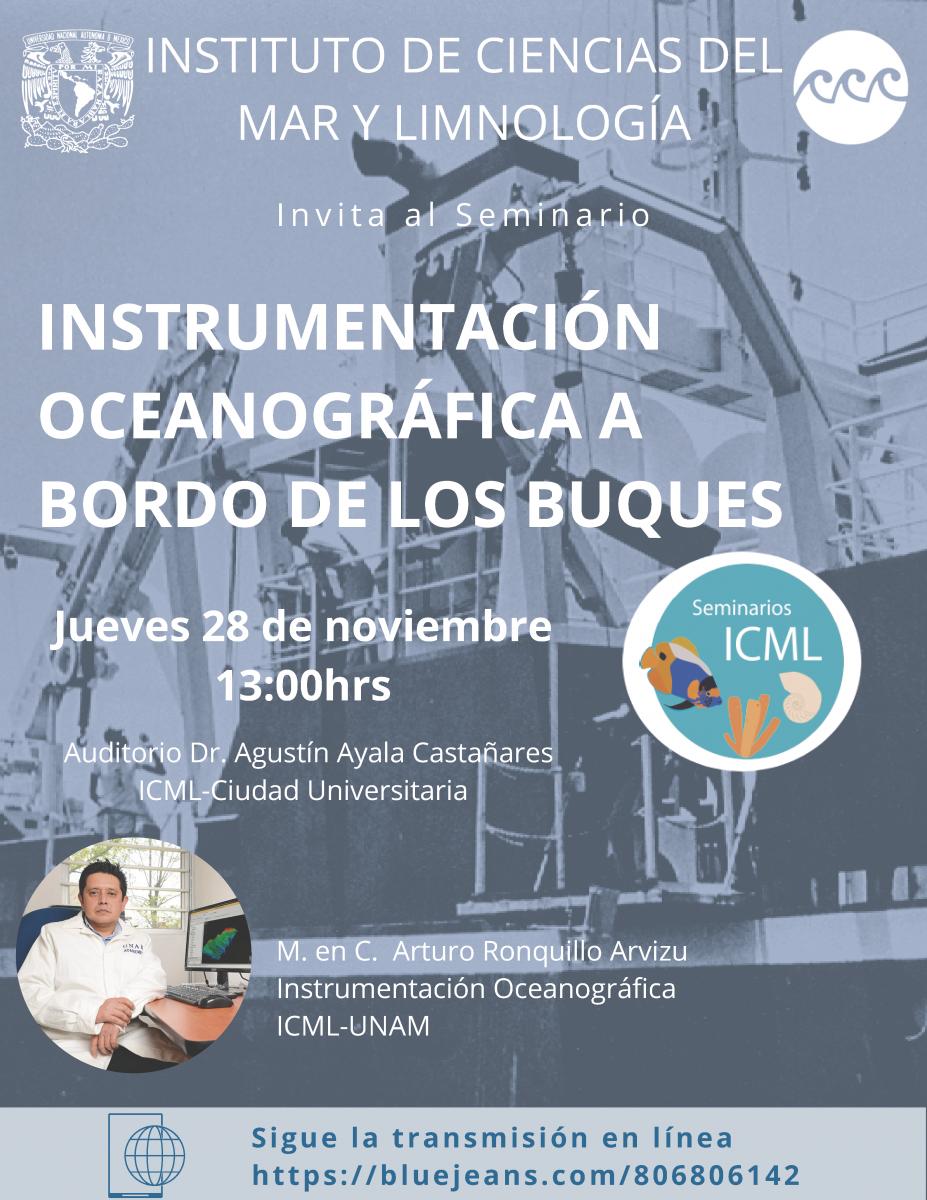 """Seminario """"Instrumentación Oceanográfica a bordo de los buques"""""""