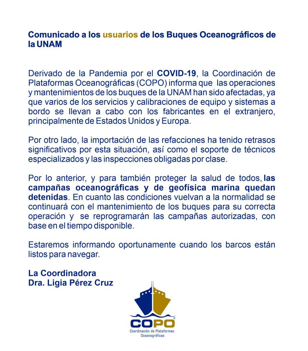 #COMUNICADO #COVID-19
